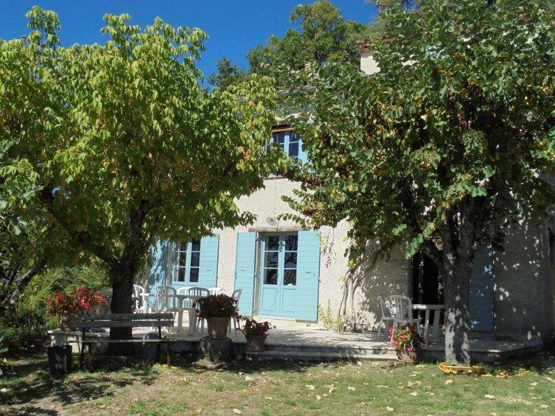 Grande maison dans village perché parc du Luberon, alquiler vacacional en Montfuron