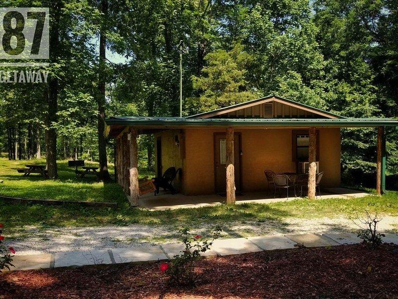 The 87Getaway Cabin #1, casa vacanza a Mountain View