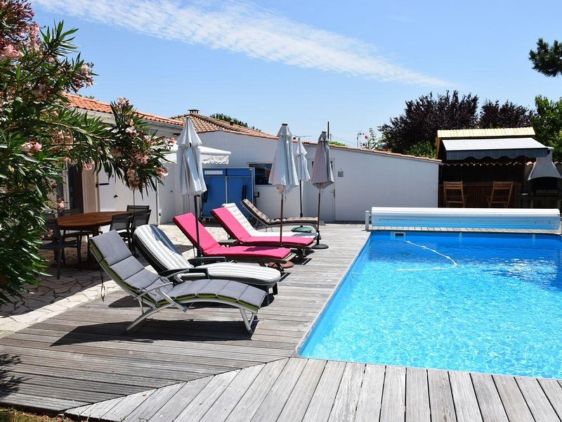 Maison coté piscine