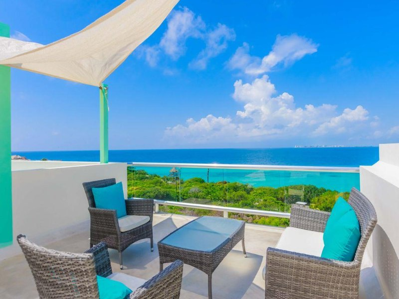 Wake up to a beautiful view every morning! – semesterbostad i Isla Mujeres