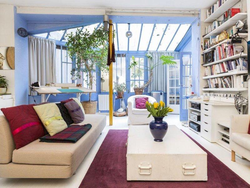 2 BR + sofa bed - Artist Workshop, Marais by Rue De Bretagne, holiday rental in Paris