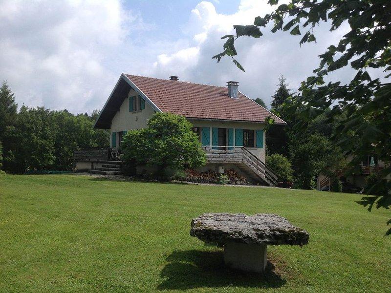 Chalet du Hérisson***  8 personnes tout confort avec panorama magnifique., holiday rental in Saint-Pierre