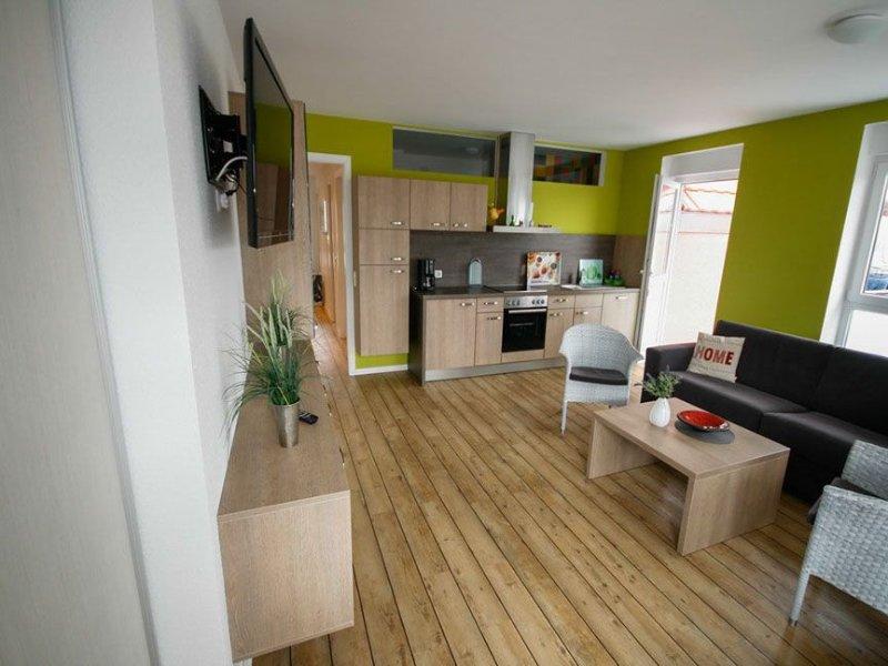 Residenz Naturduene Wohnung 11, Balkon, Seesicht, Schwimmbad und Sauna, Nichtrau, location de vacances à Cuxhaven