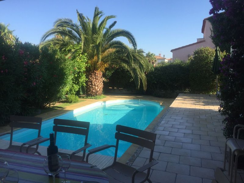 House air conditionall confort with hot pool near of the beach with bicycle free, Ferienwohnung in Saint-Cyprien