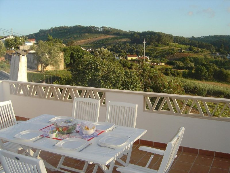 The terrace has relaxing views all round