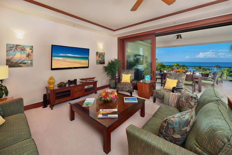 Sea Mist 2403 Oceanfront Villa at Montage Kapalua Bay-VACATION IN YOUR OWN PRIVA, vacation rental in Kapalua