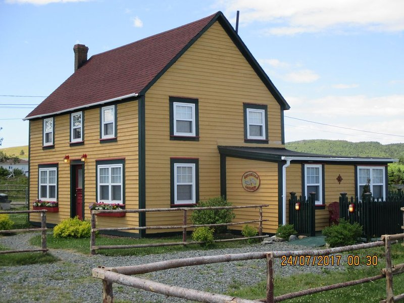 Baccalieu Cottage, A True Newfoundland Gem, location de vacances à Grates Cove
