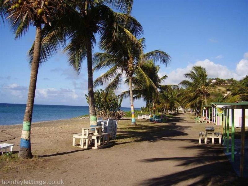 Frigate Bay Beach on Caribbean