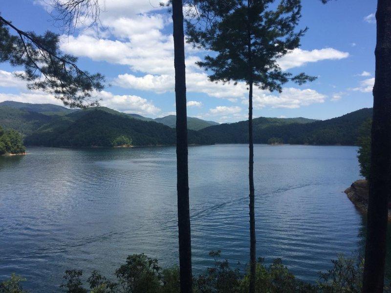 Martin Pointe - Lake Front Home on Lake Jocassee, location de vacances à Salem
