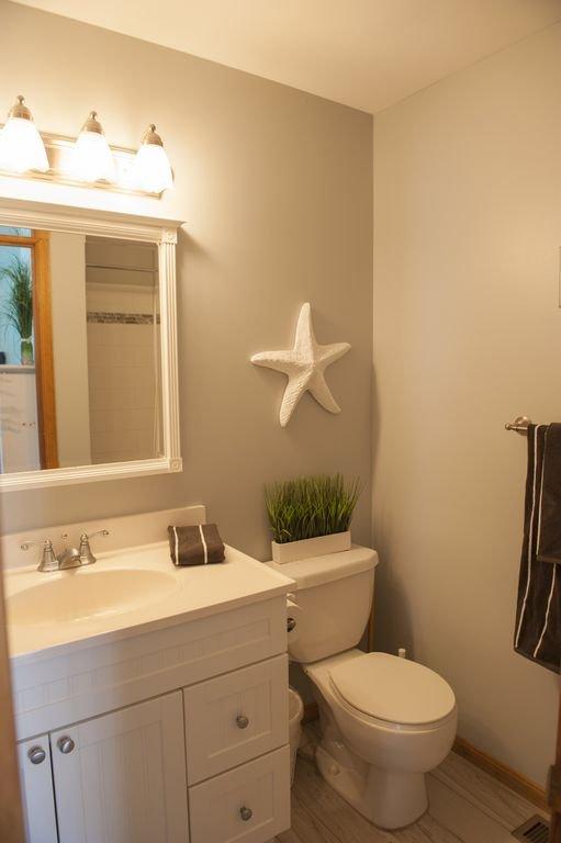 Full Bath on Main level w/shower (2nd floor outside twin room)