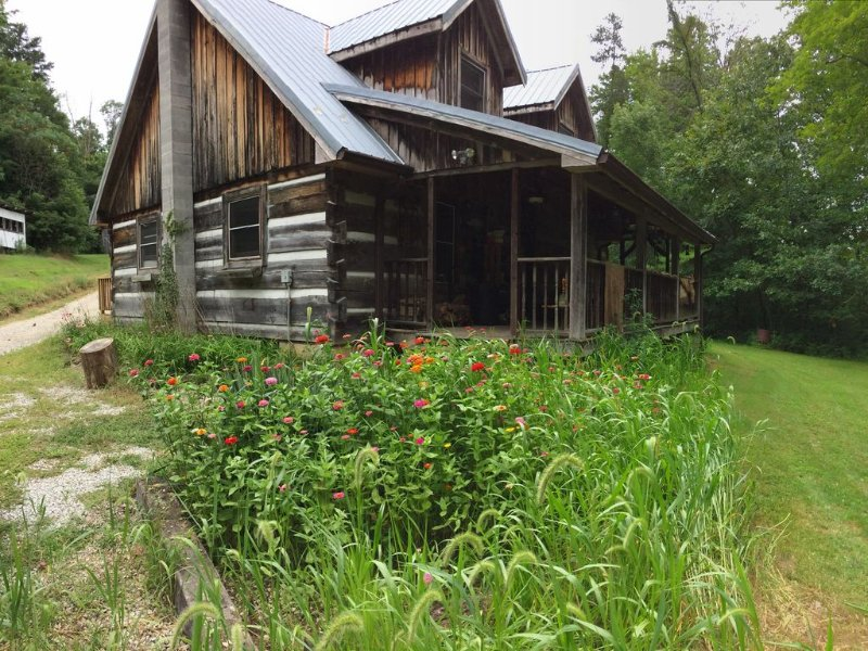 Escape Trump and/or the Media -- Rustic Cabin on 16 Acres! $195/night for March, vacation rental in Morgantown