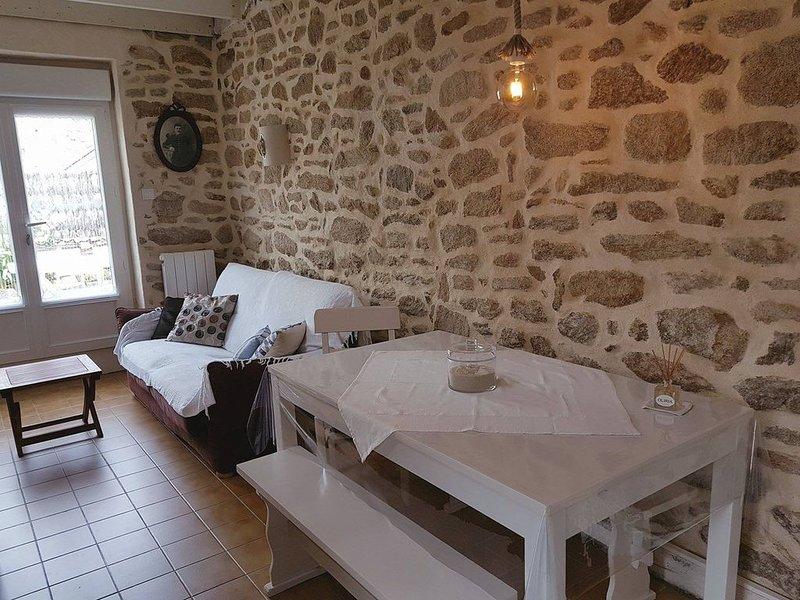 Maison 3-4 pers 150 m de la plage St-Pierre Quiberon, holiday rental in Saint-Pierre-Quiberon