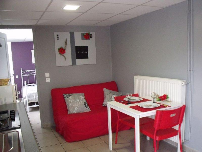 Appartement T1 de charme à Hendaye, holiday rental in Hendaye