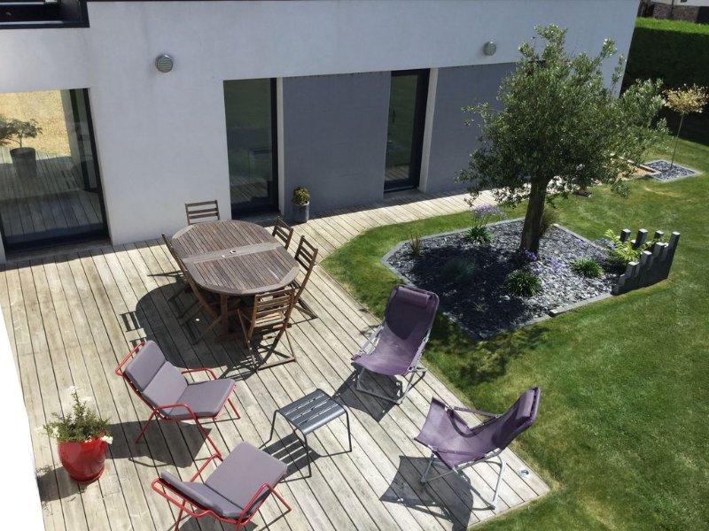 Maison de vacances, bord de mer en Bretagne, alquiler vacacional en Locquirec