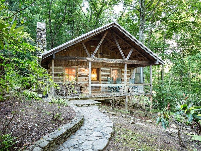 Graves Cabin - Luxury Cabin Near Waynesville & Asheville, casa vacanza a Canton