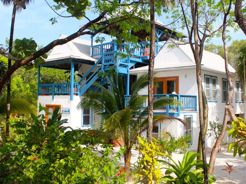 The Tradewinds Villa, On A Beautiful And Secluded White Caribbean Beach, holiday rental in Politilly Bight