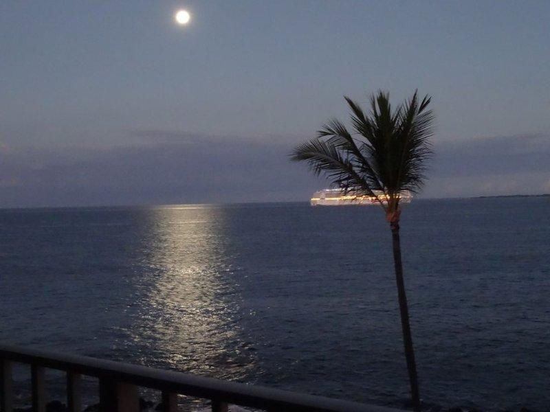 Spectacular Condo: 2BR/2BA Oceanfront, holiday rental in Kalaoa