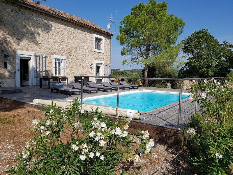 Mas avec piscine dans les vignes   -, location de vacances à Conilhac-Corbieres
