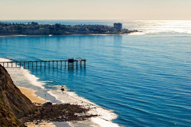 La Jolla Shores coastline is a short walk away.
