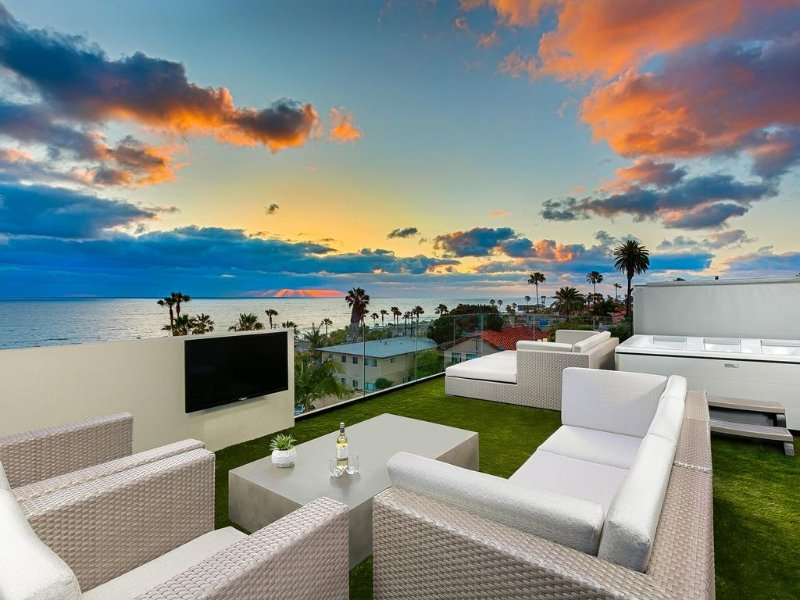 Modern Home w/ Expansive Ocean Views, Private Deck, vacation rental in La Jolla