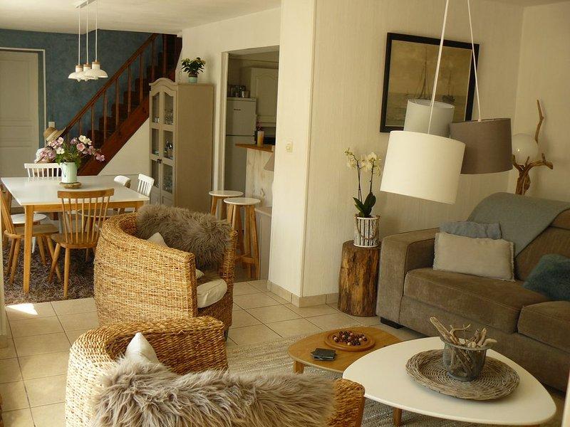 Dieppe * Maison 6/8 personnes à 700 m de la plage de Puys - Calme et charme, location de vacances à Belleville-sur-Mer
