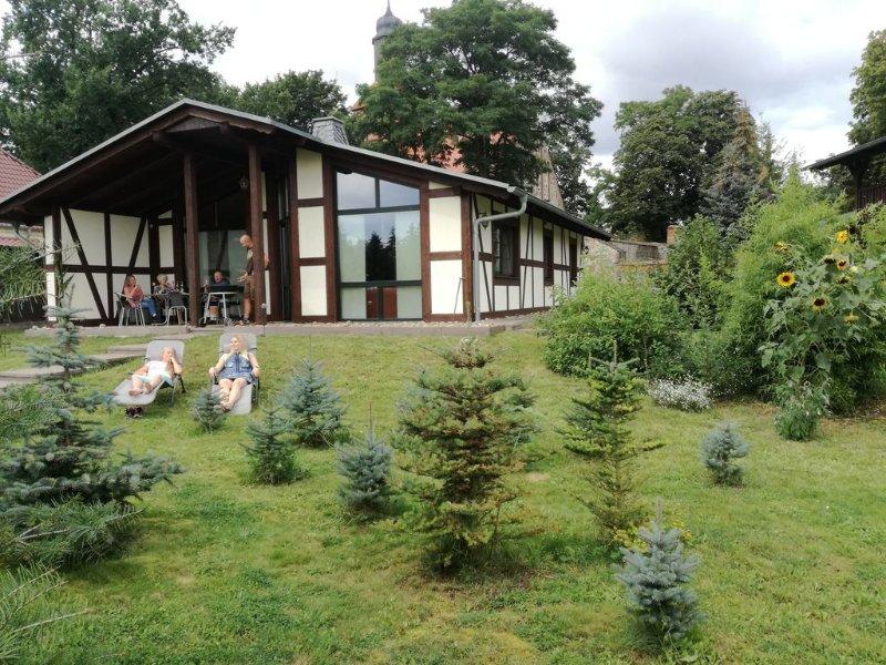 Ferienhaus ''DIANA'' in Menkin bei Brüssow, mit rustikalem Ambiente /  WLAN, casa vacanza a Bruessow