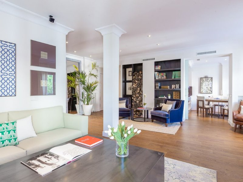 Piso moderno y elegante en el barrio de Salamanca, vacation rental in Madrid