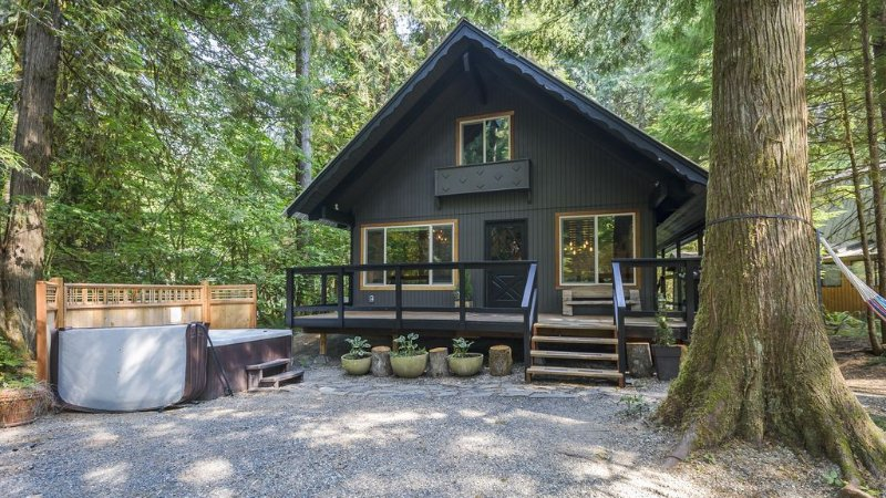 Mount Baker Rustic Modern Chalet With Hot Tob, Newly Renovated & Pet Friendly, alquiler vacacional en Glacier