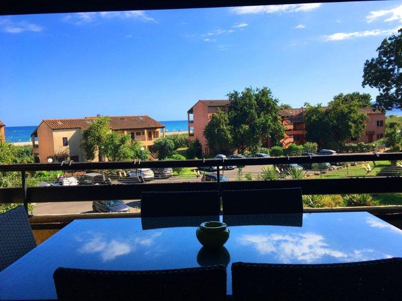 Magnifique Appartement  VUE MER et MONTAGNES, vacation rental in Haute-Corse