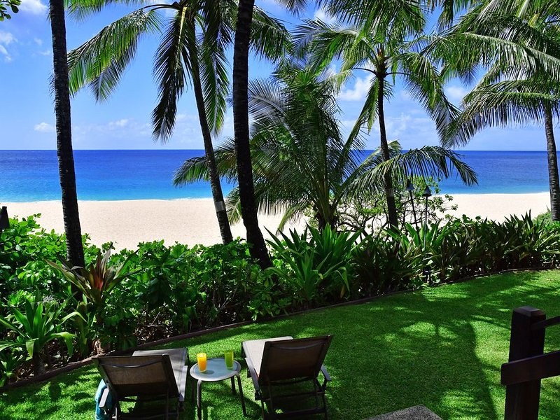 Zen Ambiance On The Sand At Ke Iki Beach, holiday rental in Haleiwa