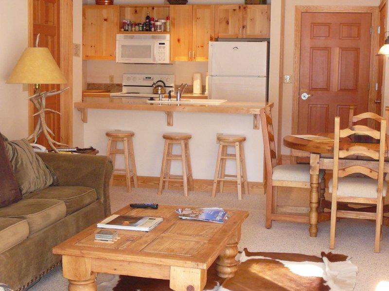 Teton Creek Resort 314- Central Location For Skiing, Biking, Golfing, Fishing, holiday rental in Driggs