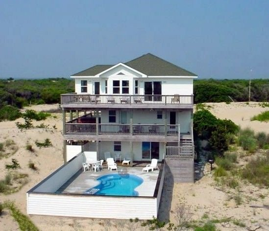 Footprints in the Sand* Pool, Hot tub *EXTRA livng rm&kitchen* Pets, Private, alquiler de vacaciones en Corolla