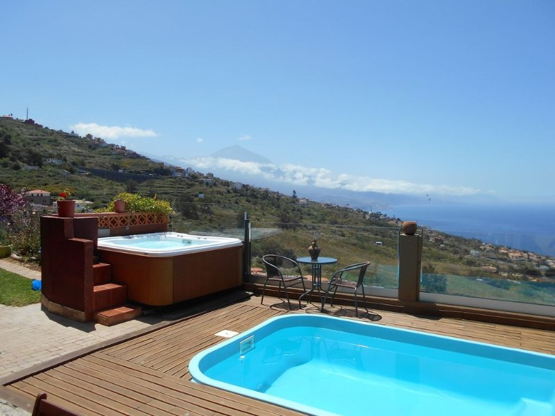 Tenerife apartments facing the Teide and the sea – semesterbostad i El Sauzal