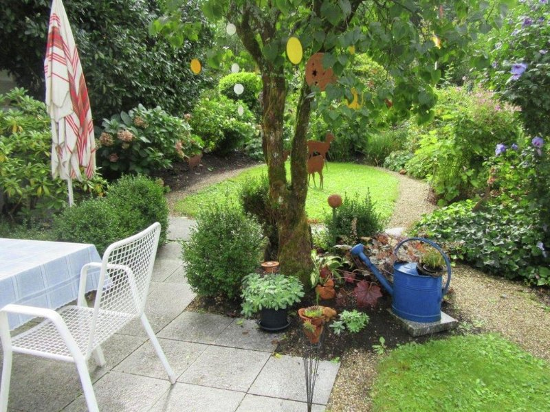 Beautiful apartment near Baden-Baden with covered terrace and garden, alquiler vacacional en Bad Wildbad