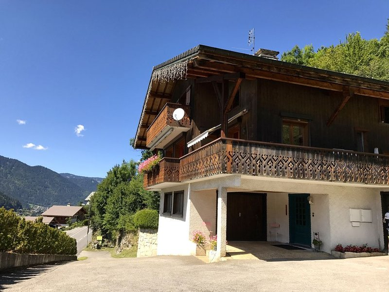 Morzine  Grand Arnica  superbe vue  Multi-pass 2 à 4 pers. 2 ch. 2 balcons, location de vacances à Morzine