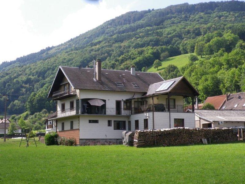 Appartement à l'étage du propriétaire avec balcon et cour, alquiler vacacional en Breitenau