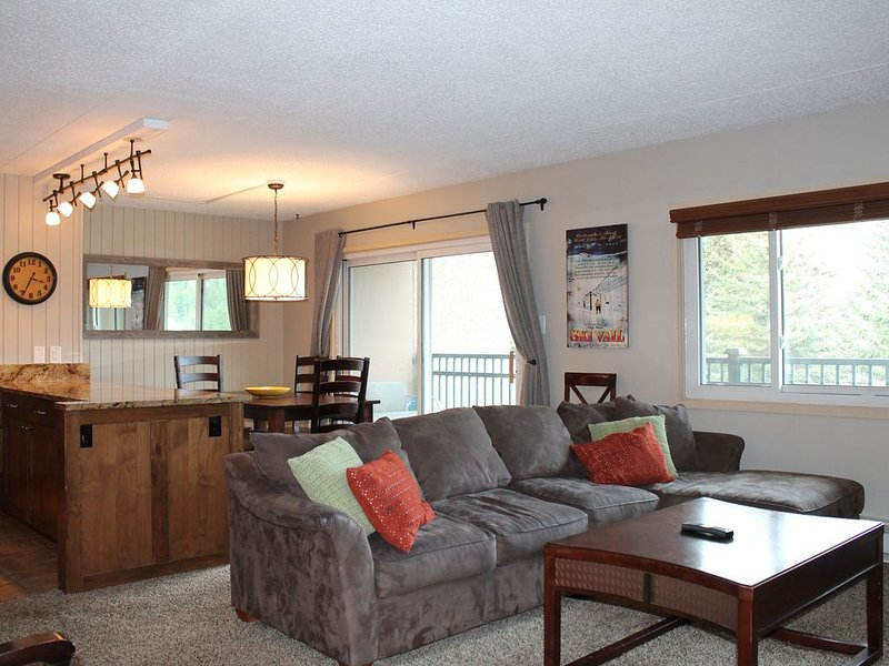 In the heart of Lionshead Village, steps to the Gondola with mountain views!, vacation rental in Vail