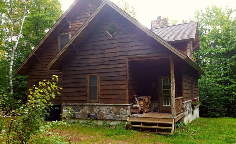 Adirondack Lodge at Loon Lake. Pet and family friendly., holiday rental in Vermontville