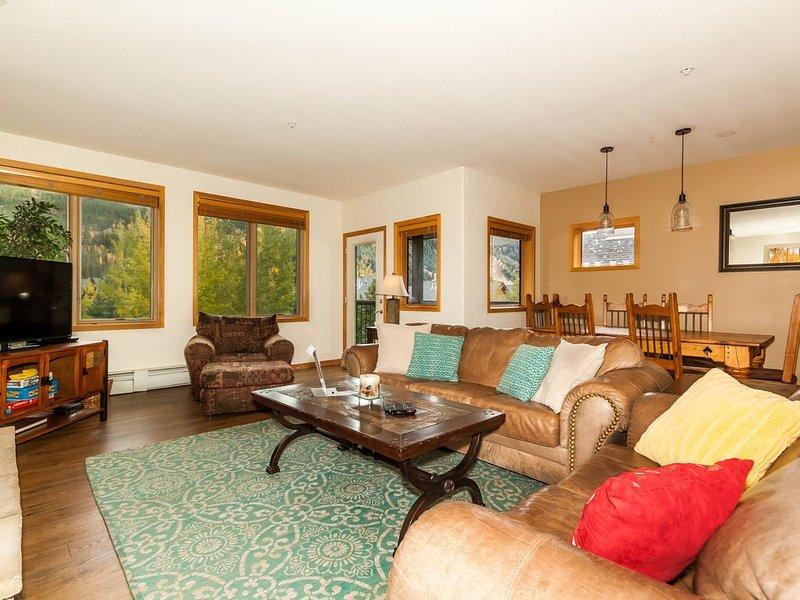 Spacious 3-bedroom, Fantastic Slope Views, Granite Countertops in Kitchen, holiday rental in Keystone