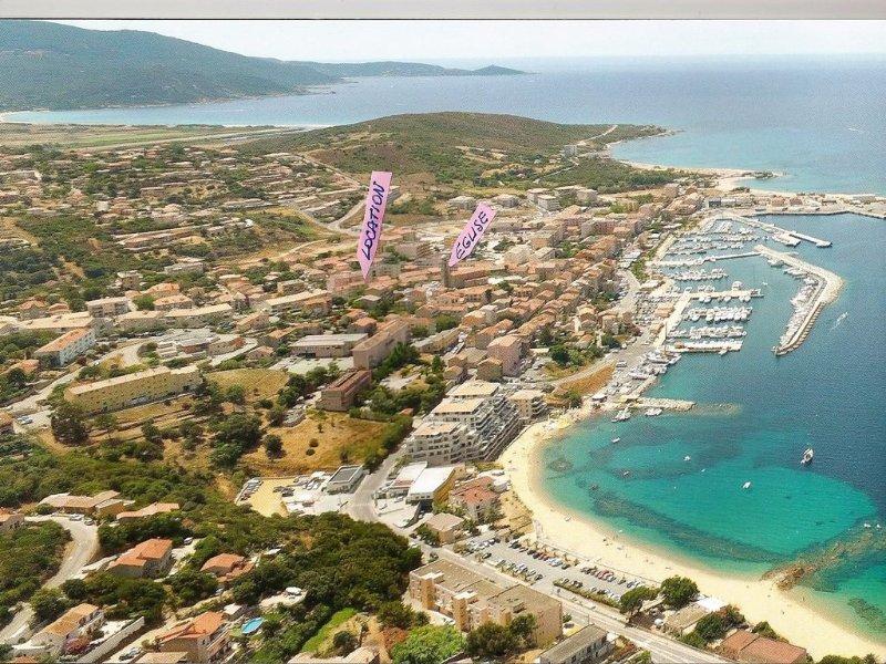 superbe location 2 pieces vue exceptionnelle mer, location de vacances à Corse-du-Sud