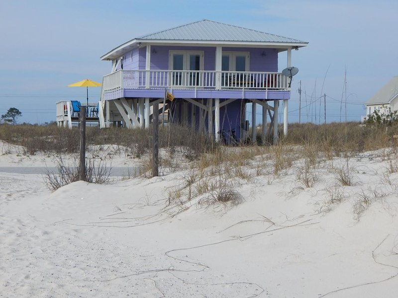 Million Dollar Gulf View from this 2 bedroom/2 bath home, holiday rental in Gulf Shores