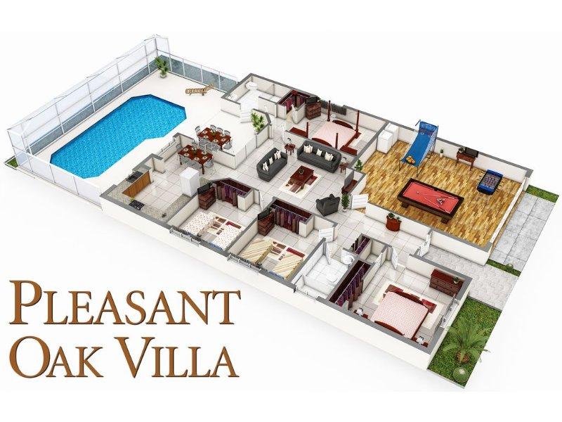 Agradable Oak Villa - Propósito construido para ofrecerle unas fantásticas vacaciones!