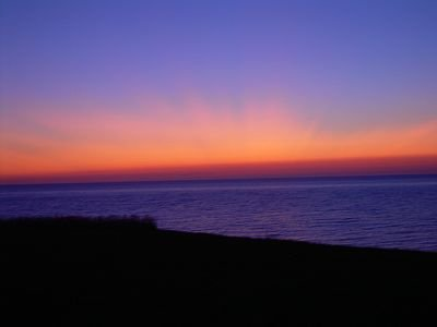 Cape Breton - Cabot Trail -Spectacular sunsets and mountain views from the  porc, vacation rental in Cheticamp