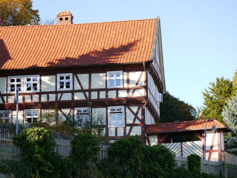 very central Light -großräumige - quiet -familienfreundliche apartment,, location de vacances à Halberstadt