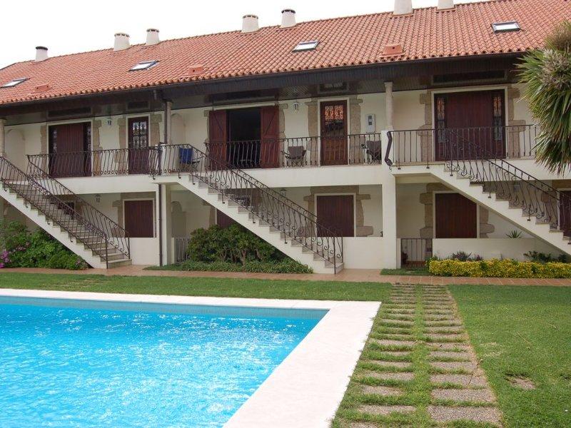 Mindelo: Appartement dans résidence fermée, location de vacances à Mindelo