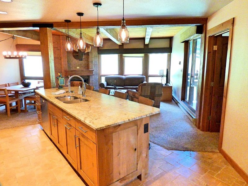 ⭐️LIFT TICKETS⭐️ Ground Floor in Mtn Village + WIFI + Fireplace + Hot Tubs, holiday rental in Steamboat Springs