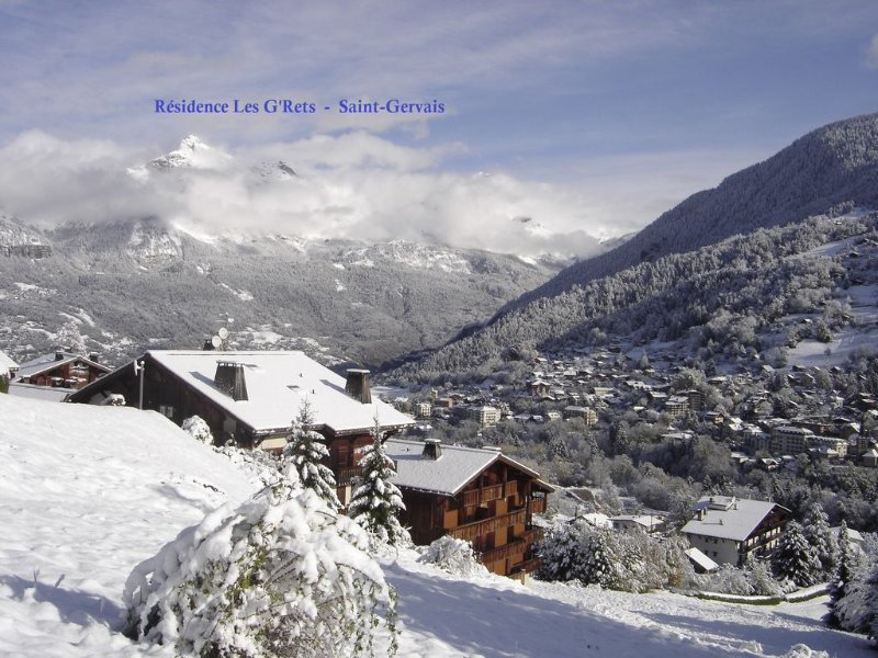 St-Gervais, spacious Studio, Massive balcony faci, holiday rental in Saint-Gervais-les-Bains