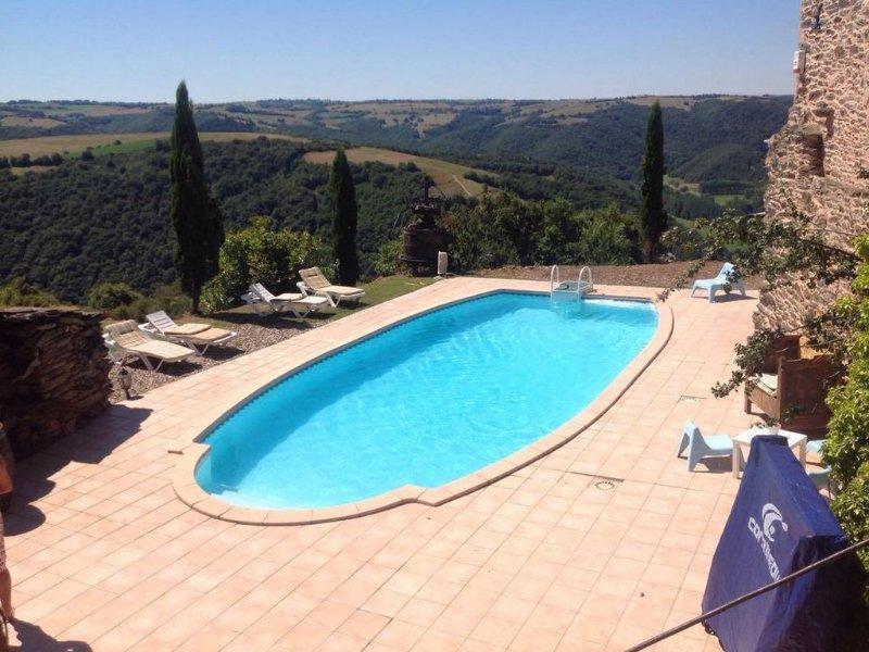 Albi : maison de caractère avec piscine pour 12 personnes, holiday rental in Serenac
