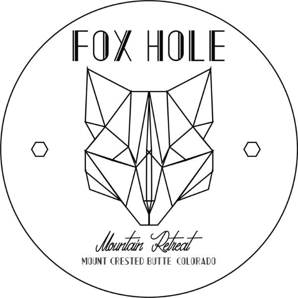 Our little slice of mountain heaven is called the Fox Hole Mountain Retreat!