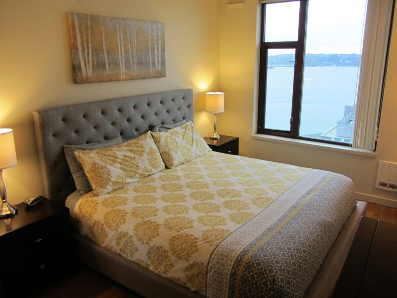 Amazing Location by Pike Pl Market ~ Water Views ~ HUGE, Sleeps 8 – semesterbostad i Seattle